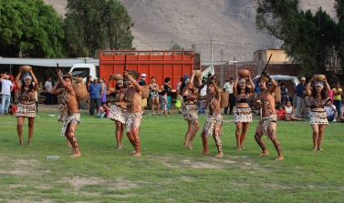 In case you missed it from the last post, here are the jungle dancers from the goat fair on Sunday.